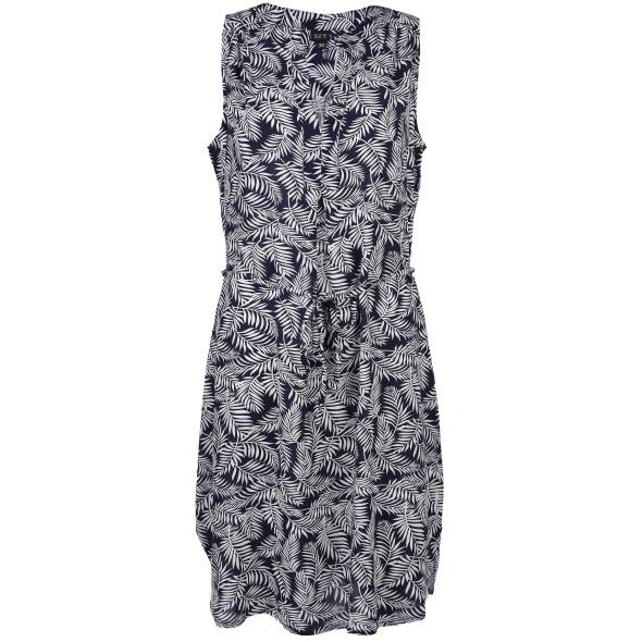Damen Kleid mit Palmenprint