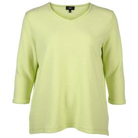Große Größen Sweatshirt mit Struktur
