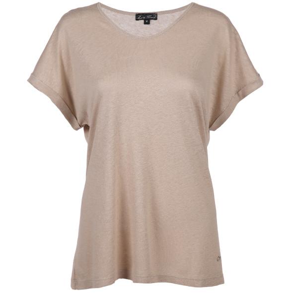 Damen Leinenmix-Shirt