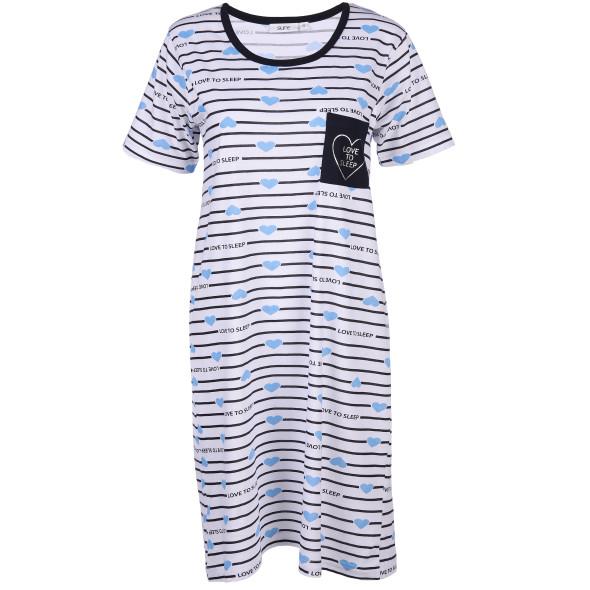 Damen Nachthemd mit Print