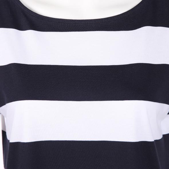 Damen Shirt mit Blockstreifen