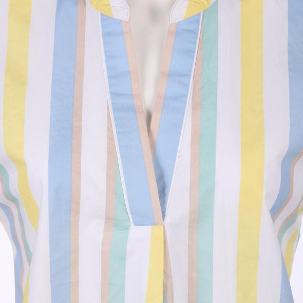 Damen Blusen-Top im Streifenlook