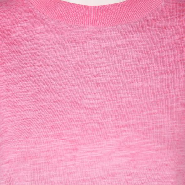 Damen Shirtkleid in melierter Optik