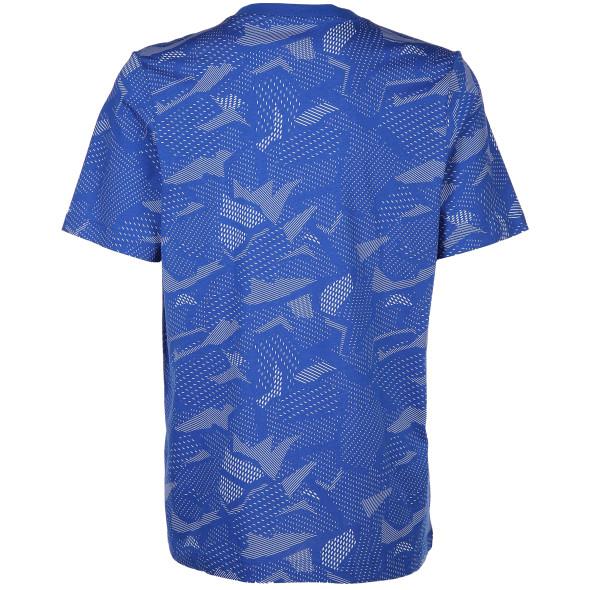 Herren Sportshirt mit abstraktem Print