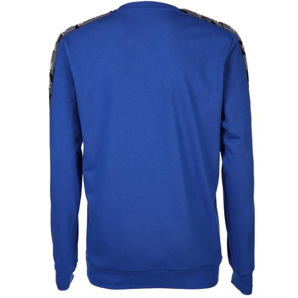 Herren Sweatshirt mit Streifeneinsatz