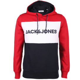 Jack&Jones JJELOGO BLOCKING SWEA Hoodie