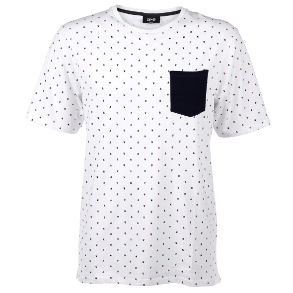 Herren T-Shirt im Minimalprint