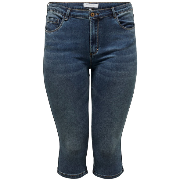 Only Carmakoma CARAUGUSTA LIFE HW SK Jeans Hose in 3/4 Länge