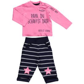 Baby Mädchen Set bestehend aus Langarmshirt und Hose