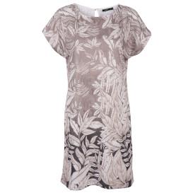 Damen Kleid im Blätterprint