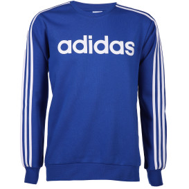 Herren Sport Sweatshirt mit Logostreifen