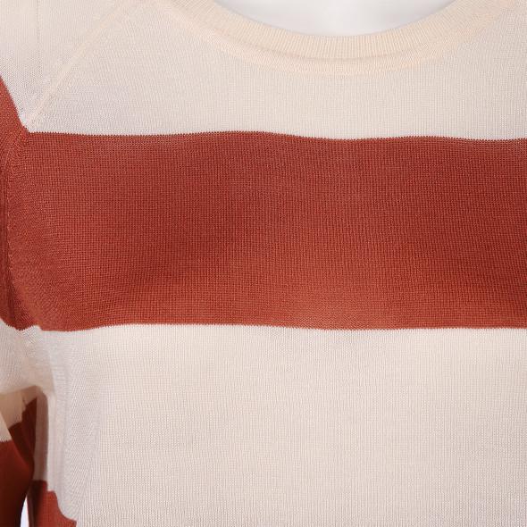 Vero Moda  VMLINA LS O-NECK BLOU Feinstrickpullover