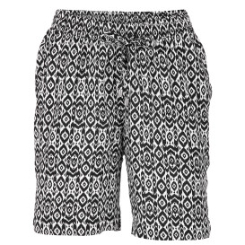 Damen Flattershorts mit Alloverprint