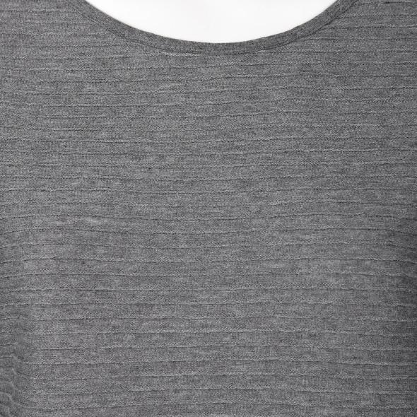 Damen Strukturshirt mit 3/4 Arm