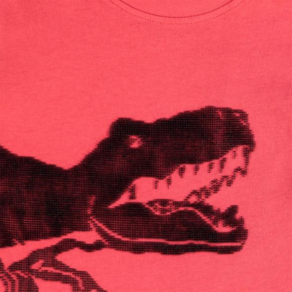 Jungen Langarmshirt mit gummiertem Print