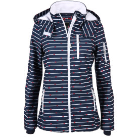 Damen Softshelljacke mit Alloverprint
