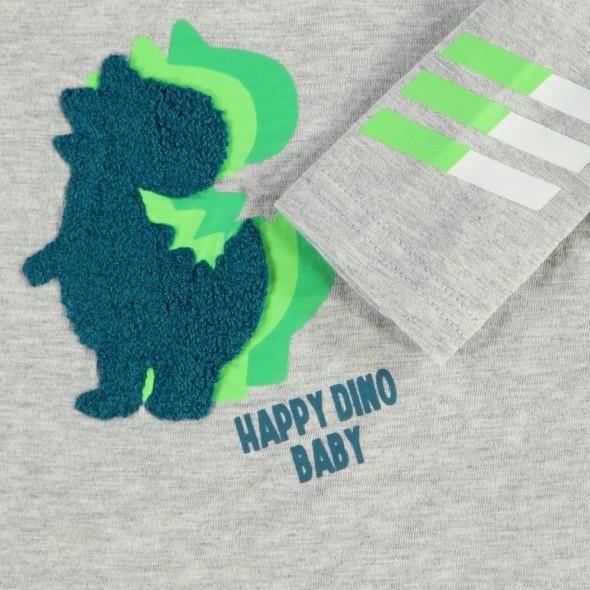 Baby Jungen Longsleeve mit Dinodruck