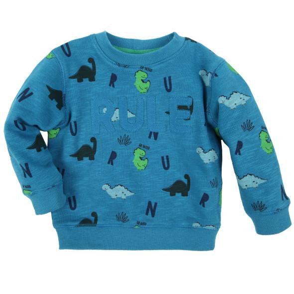 Baby Jungen Sweatshirt mit Dinomotiven