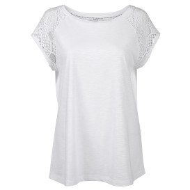 Damen Shirt mit Lochmuster