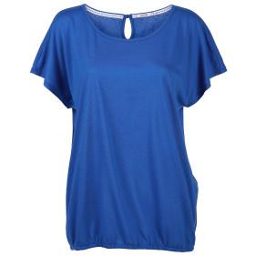 Damen Shirt mit Gummizug am Saum