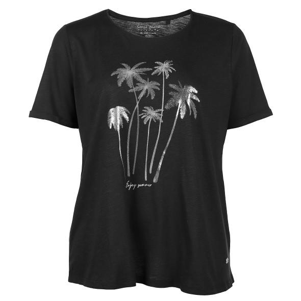 Große Größen Shirt mit Frontprint
