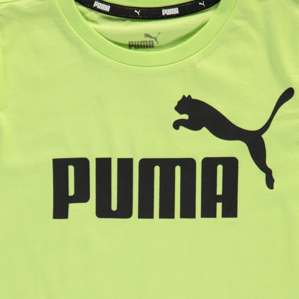 Jungen Sportshirt mit Logoprint