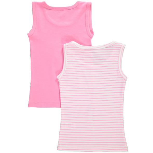 Mädchen Unterhemd im 2er Pack