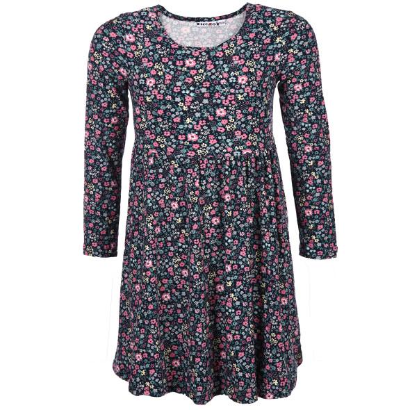 Mädchen Kleid im Alloverprint