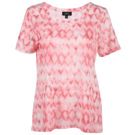 Damen Shirt in Ausbrenner-Optik