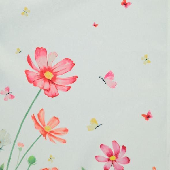 Tischläufer mit floralem Print, 140x40cm