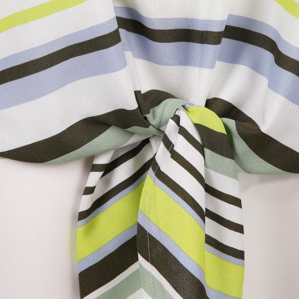 Damen Blusenshirt mit Knotendetail