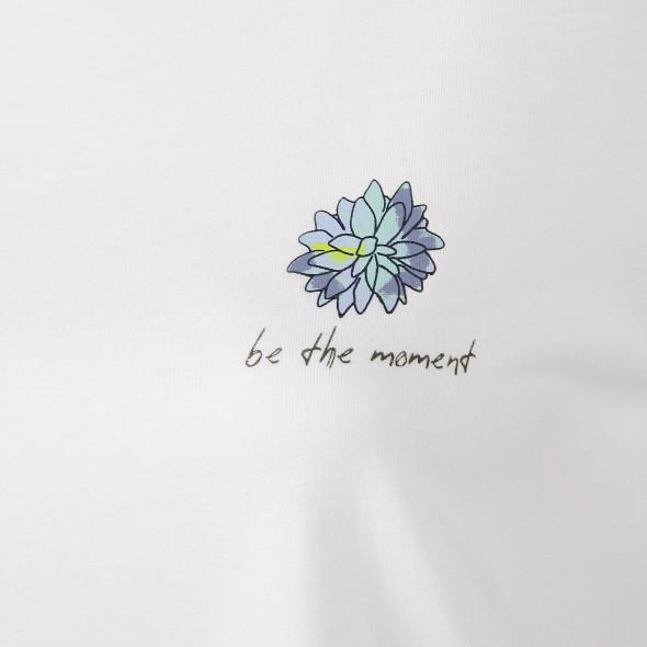 Damen T-Shirt mit kleinem Frontprint