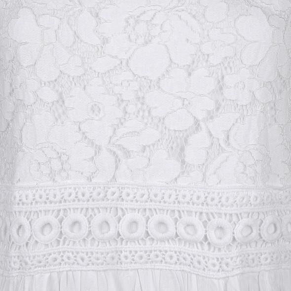 Damen Jersey-Hängerchen Kleid unifarben