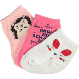 Baby Mädchen Socken im 3er Pack