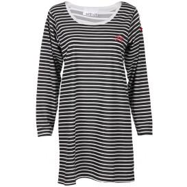 Damen Nachthemd mit Streifen