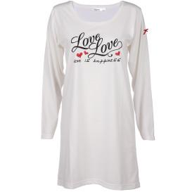 Damen Nachthemd mit Schriftprint