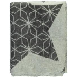 Jacquard Decke mit Sterneprint 150x200cm