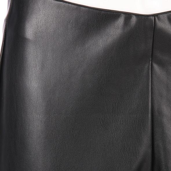 Damen Hose in Lederoptik