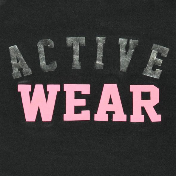 Mädchen Sport Shirt mit Schriftprint