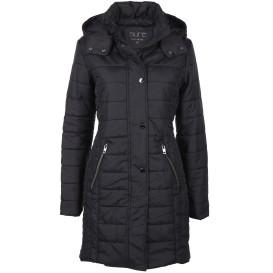 Damen Mantel mit abknöpfbarer Kapuze