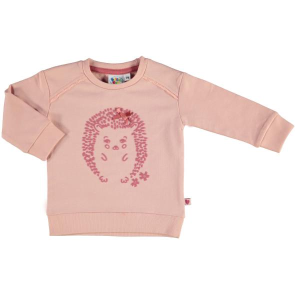 Baby Mädchen Sweatshirt mit Gummi-Puffdruck