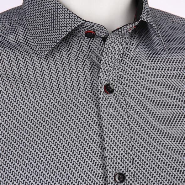Herren Cityhemd im Minimalprint