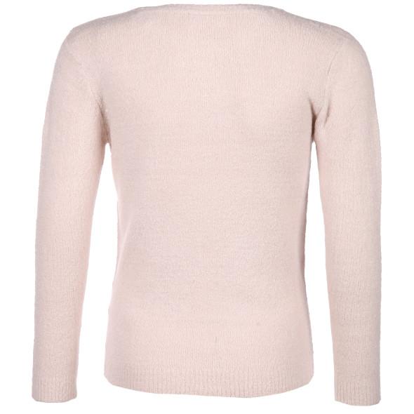 Mädchen Pullover mit Häschenmotiv