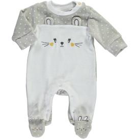 Baby Strampler mit Stickerei