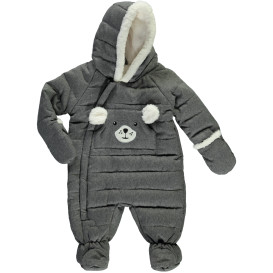 Baby Unisex Overall mit Teddyfell