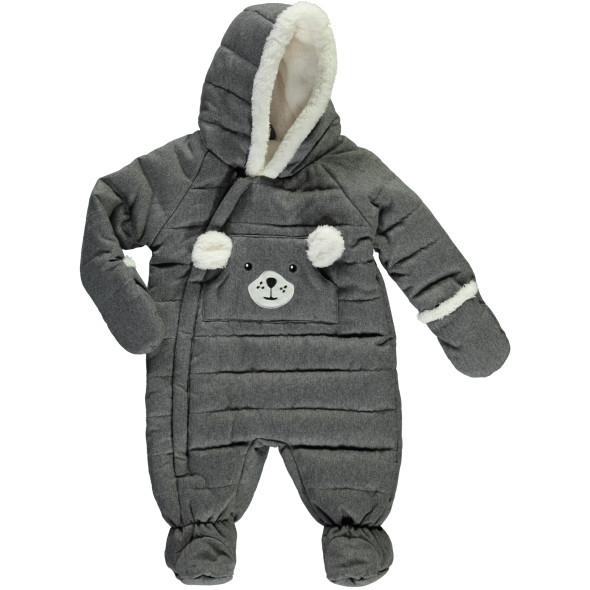 Baby Unisex Overall mit Teddyfell