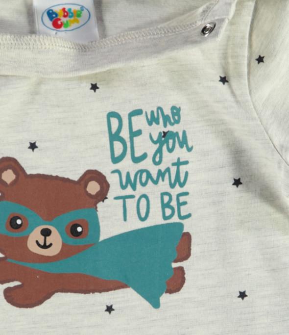 Baby Jungenshirt mit Frontprint