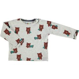 Baby Langarmshirt mit Alloverprint