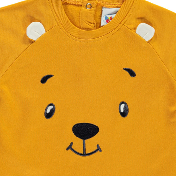 Baby Jungen Sweatshirt mit Stickerei-Appliaktion