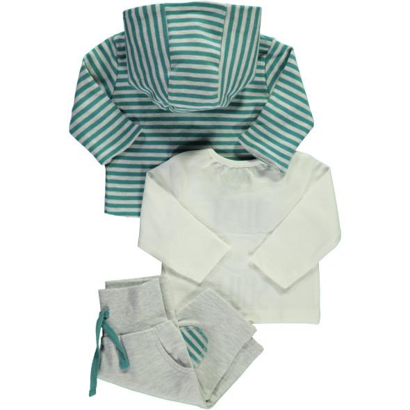Baby 3er Set bestehend aus Shirt, Hose und Jacke